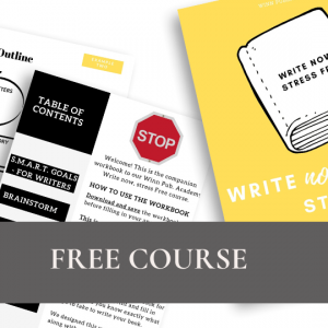Write Now, Stress Free – Online Course